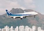 NH642さんが、啓徳空港で撮影した全日空 747-481の航空フォト(写真)