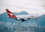 NH642さんが、啓徳空港で撮影したカンタス航空 747SP-38の航空フォト(写真)