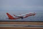 yabyanさんが、中部国際空港で撮影したチェジュ航空 737-8HXの航空フォト(飛行機 写真・画像)