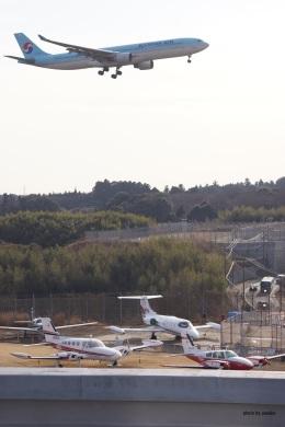 yusuke@HNDさんが、成田国際空港で撮影した大韓航空 A330-323Xの航空フォト(飛行機 写真・画像)