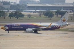 cassiopeiaさんが、ドンムアン空港で撮影したノックエア 737-8ASの航空フォト(飛行機 写真・画像)