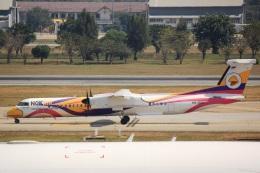 cassiopeiaさんが、ドンムアン空港で撮影したノックエア DHC-8-402Q Dash 8の航空フォト(飛行機 写真・画像)