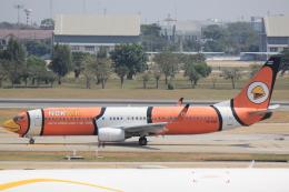 cassiopeiaさんが、ドンムアン空港で撮影したノックエア 737-83Nの航空フォト(飛行機 写真・画像)