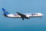 SKYLINEさんが、羽田空港で撮影したスカイマーク 767-3Q8/ERの航空フォト(飛行機 写真・画像)