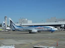 Mosquito60さんが、シアトル タコマ国際空港で撮影したアラスカ航空 737-890の航空フォト(飛行機 写真・画像)