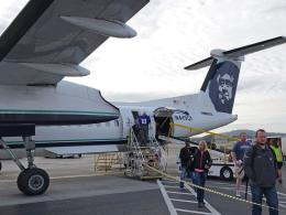 Mosquito60さんが、ポートランド国際空港で撮影したホライゾン航空 DHC-8-402Q Dash 8の航空フォト(飛行機 写真・画像)