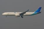 香港国際空港 - Hong Kong International Airport [HKG/VHHH]で撮影されたガルーダ・インドネシア航空 - Garuda Indonesia [GA/GIA]の航空機写真
