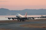 ぷぅぷぅまるさんが、関西国際空港で撮影したタイ国際航空 A380-841の航空フォト(写真)