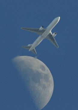 ヨッちゃんさんが、調布飛行場で撮影した日本航空 767-346/ERの航空フォト(飛行機 写真・画像)