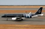 なごやんさんが、中部国際空港で撮影したスターフライヤー A320-214の航空フォト(写真)