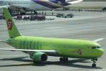 cassiopeiaさんが、スワンナプーム国際空港で撮影したS7航空 767-33A/ERの航空フォト(写真)