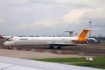 ぽっぽさんが、スカルノハッタ国際空港で撮影したエアファスト インドネシア MD-83 (DC-9-83)の航空フォト(写真)