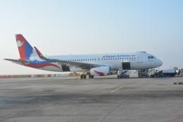 Daichi Teradaさんが、トリブバン国際空港で撮影したネパール航空 A320-233の航空フォト(飛行機 写真・画像)