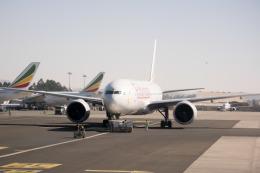 Salamさんが、ボレ国際空港で撮影したエチオピア航空 777-260/LRの航空フォト(飛行機 写真・画像)