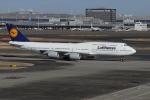 Mihaさんが、羽田空港で撮影したルフトハンザドイツ航空 747-830の航空フォト(写真)