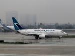 さとうさんが、ロサンゼルス国際空港で撮影したウェストジェット 737-7CTの航空フォト(写真)