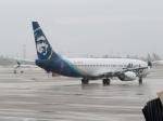 さとうさんが、ロサンゼルス国際空港で撮影したアラスカ航空 737-890の航空フォト(写真)