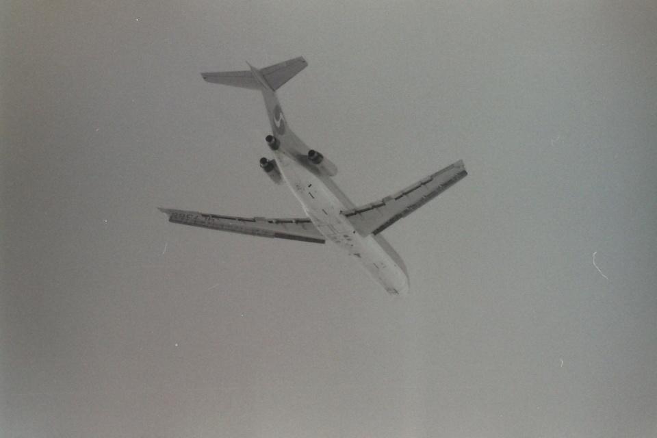 うすさんの大韓航空 Boeing 727-200 (HL7366) 航空フォト