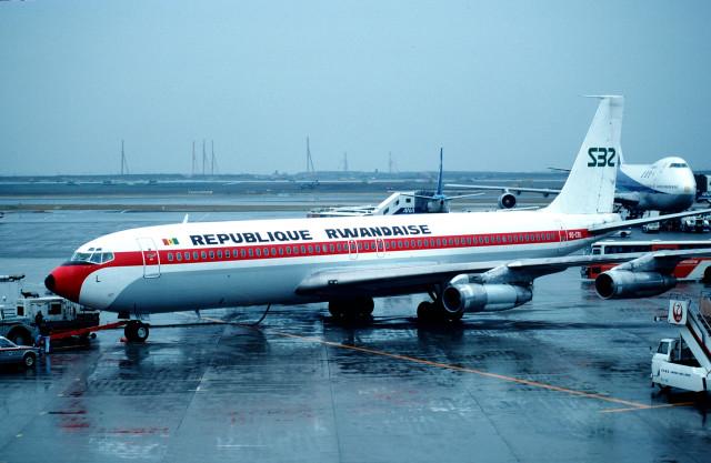 ルワンダ政府 Boeing 707-300 9Q...