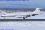 Chofu Spotter Ariaさんが、新千歳空港で撮影したウェルズ・ファーゴ・バンク・ノースウェスト G-V-SP Gulfstream G550の航空フォト(写真)