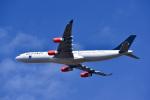 パンダさんが、成田国際空港で撮影したスカンジナビア航空 A340-313Xの航空フォト(写真)