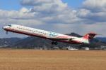 ぽんさんが、高知空港で撮影した遠東航空 MD-82 (DC-9-82)の航空フォト(写真)