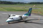 プルシアンブルーさんが、五島福江空港で撮影したオリエンタルエアブリッジ DHC-8-201Q Dash 8の航空フォト(写真)