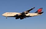 イーヌイさんが、成田国際空港で撮影したデルタ航空 747-451の航空フォト(写真)