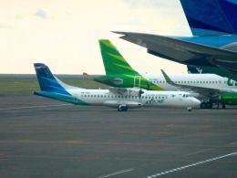 航空フォト:PK-GAI ガルーダ・インドネシア航空 ATR 72