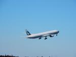 エアキヨさんが、成田国際空港で撮影したキャセイパシフィック航空 777-367の航空フォト(写真)