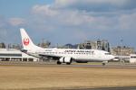 てくてぃーさんが、松山空港で撮影した日本航空 737-846の航空フォト(写真)