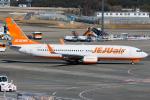 Tomo-Papaさんが、成田国際空港で撮影したチェジュ航空 737-8ASの航空フォト(写真)