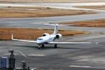 T.Sazenさんが、関西国際空港で撮影したユタ銀行 G-V-SP Gulfstream G500の航空フォト(写真)