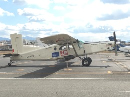 masayasuさんが、八尾空港で撮影したアイ・ティー・シー・アエロスペース PC-6/B2-H4 Turbo-Porterの航空フォト(飛行機 写真・画像)