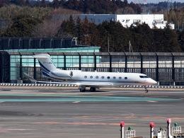FT51ANさんが、成田国際空港で撮影したサザン・クロス・アヴィエーション G650ER (G-VI)の航空フォト(飛行機 写真・画像)