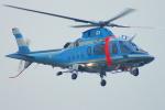 485k60さんが、山口宇部空港で撮影した愛媛県警察 A109E Powerの航空フォト(写真)