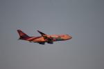 マスターMさんが、羽田空港で撮影したタイ国際航空 747-4D7の航空フォト(写真)