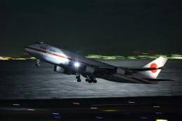 多摩川崎2Kさんが、羽田空港で撮影した航空自衛隊 747-47Cの航空フォト(飛行機 写真・画像)