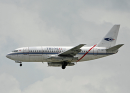 Bokuranさんが、シンガポール・チャンギ国際空港で撮影したトライエムジー イントラ アジア エアラインズ 737-210C/Advの航空フォト(飛行機 写真・画像)