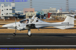 Chofu Spotter Ariaさんが、八尾空港で撮影した日本個人所有 DA42 TwinStarの航空フォト(飛行機 写真・画像)