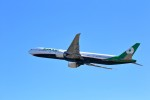 T.Sazenさんが、関西国際空港で撮影したエバー航空 777-3SH/ERの航空フォト(飛行機 写真・画像)
