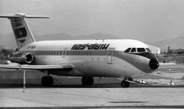 ハミングバードさんが、名古屋飛行場で撮影したエア・サイアム 111-416EK One-Elevenの航空フォト(飛行機 写真・画像)