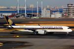 T.Kenさんが、羽田空港で撮影したシンガポール航空 A350-941XWBの航空フォト(飛行機 写真・画像)