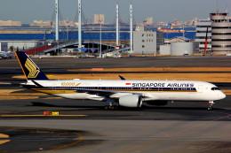 T.Kenさんが、羽田空港で撮影したシンガポール航空 A350-941の航空フォト(飛行機 写真・画像)