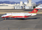 RA-86141さんが、名古屋飛行場で撮影したHanhwa Airlines BD-100-1A10 Challenger 300の航空フォト(写真)