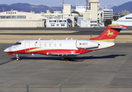 RA-86141さんが、名古屋飛行場で撮影したHanhwa Airlines BD-100-1A10 Challenger 300の航空フォト(飛行機 写真・画像)