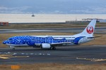 T.Sazenさんが、関西国際空港で撮影した日本トランスオーシャン航空 737-4Q3の航空フォト(写真)