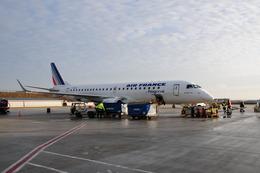 B787-9さんが、パリ シャルル・ド・ゴール国際空港で撮影したレジォナル ERJ-190-100 LR (ERJ-190LR)の航空フォト(飛行機 写真・画像)