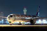 フジコンさんが、羽田空港で撮影した全日空 777-381/ERの航空フォト(写真)