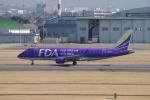 yabyanさんが、名古屋飛行場で撮影したフジドリームエアラインズ ERJ-170-200 (ERJ-175STD)の航空フォト(写真)